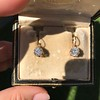 3.52ctw Antique Victorian Earrings with Coach Covers 2