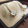 3.52ctw Antique Victorian Earrings with Coach Covers 4