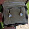3.52ctw Antique Victorian Earrings with Coach Covers 18