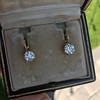 3.52ctw Antique Victorian Earrings with Coach Covers 15