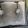 3.52ctw Antique Victorian Earrings with Coach Covers 13