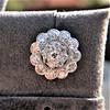 4.89ctw Vintage Cluster Old European Cut Diamond Earrings 18