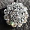 4.89ctw Vintage Cluster Old European Cut Diamond Earrings 26