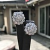4.89ctw Vintage Cluster Old European Cut Diamond Earrings 28