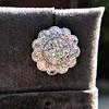 4.89ctw Vintage Cluster Old European Cut Diamond Earrings 19