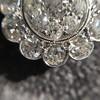 4.89ctw Vintage Cluster Old European Cut Diamond Earrings 24