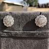 4.89ctw Vintage Cluster Old European Cut Diamond Earrings 13