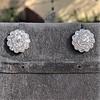 4.89ctw Vintage Cluster Old European Cut Diamond Earrings 10