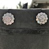 4.89ctw Vintage Cluster Old European Cut Diamond Earrings 12
