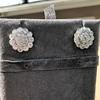 4.89ctw Vintage Cluster Old European Cut Diamond Earrings 11