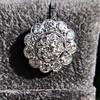 4.89ctw Vintage Cluster Old European Cut Diamond Earrings 17