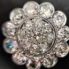 4.89ctw Vintage Cluster Old European Cut Diamond Earrings 25