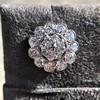 4.89ctw Vintage Cluster Old European Cut Diamond Earrings 21