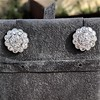 4.89ctw Vintage Cluster Old European Cut Diamond Earrings 8