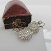 5.54ctw Edwardian Old European Cut Diamond Cluster Earrings 14