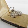5.54ctw Edwardian Old European Cut Diamond Cluster Earrings 13
