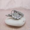 5.54ctw Edwardian Old European Cut Diamond Cluster Earrings 3
