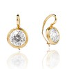 6.09ctw Old Euoprean Cut Diamond Bezel Earrings 0
