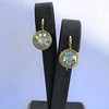 6.09ctw Old Euoprean Cut Diamond Bezel Earrings 9