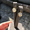 6.09ctw Old Euoprean Cut Diamond Bezel Earrings 11