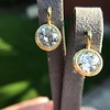 6.09ctw Old Euoprean Cut Diamond Bezel Earrings 4