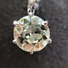 7.16ctw Old European Cut Diamond Double Drop Earrings 17