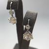 7.16ctw Old European Cut Diamond Double Drop Earrings 8
