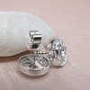 .99ctw Pave Button Diamond Stud Earrings 7