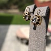 Antique Emerald and Diamond Day to Night Earrings 18