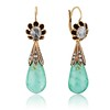Antique Emerald and Diamond Day to Night Earrings 0
