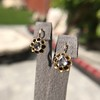 Antique Emerald and Diamond Day to Night Earrings 9