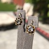 Antique Emerald and Diamond Day to Night Earrings 10