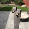 Antique Emerald and Diamond Day to Night Earrings 15