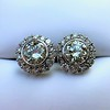 4.05ctw Round Brilliant Cluster Earrings 29
