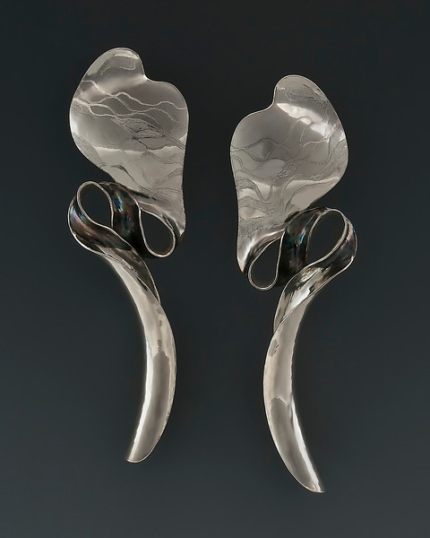 Sterling Sidewinder II Earrings