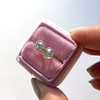 1.91ctw Old European Cut Diamond Bezel Stud Earrings 38