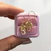 .98ctw Oval Rose Cut Diamond Earrings With Leaf Motif 10