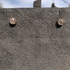 .84ctw Old Mine Cut Clover Stud Earrings, Rose Gold 0