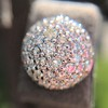 2.20ctw Diamond Dome Pave Stud Earrings 27
