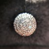 2.20ctw Diamond Dome Pave Stud Earrings 17