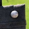 2.20ctw Diamond Dome Pave Stud Earrings 10