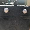 2.20ctw Diamond Dome Pave Stud Earrings 7