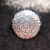 2.20ctw Diamond Dome Pave Stud Earrings 20