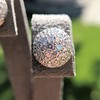 2.20ctw Diamond Dome Pave Stud Earrings 32