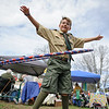 4/23/16 TOWNSEND-- Boy Scout Adam Waite, 11, from Townsend showing off his hula hoop skills on Saturday at Townsend's annual Earth Day Celebration held on the Common.  (Photo/Jeff Porter)