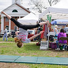 4/23/16 TOWNSEND--Hannah Moorehouse of Pepperell put's on a demonstration hosted by Pure Energy Gymnastics in Pepperell on Saturday at the 2016 Earth Day Celebration in Townsend. (Photo/Jeff Porter)