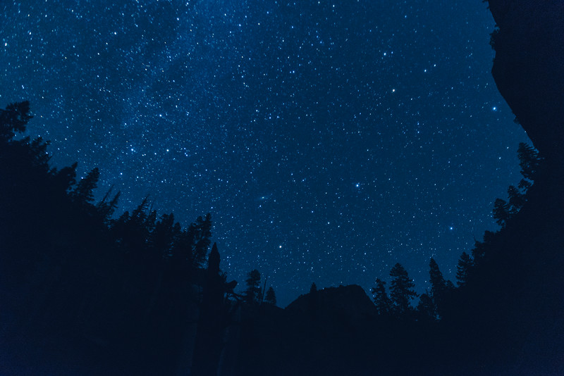 Yosemite Night Sky