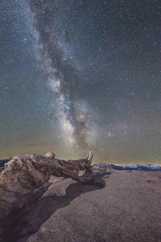 Sentinel Dome at Night, Yosemite, CA.