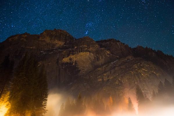 New Year. Yosemite 2017.