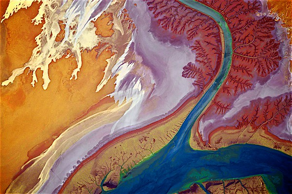 Fine Art Satellite Imagery